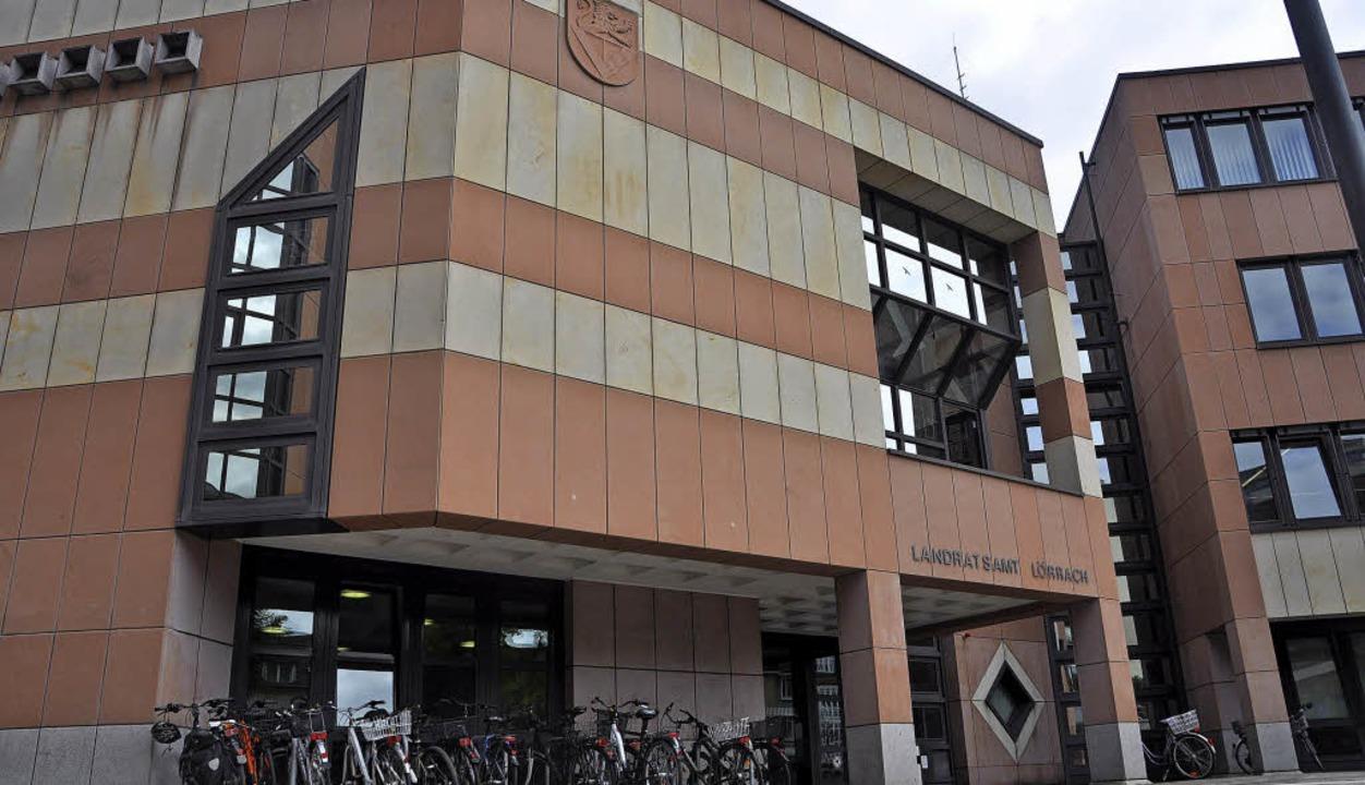 Weil das Landratsamt an der Palmstraße...ort mit 250 Arbeitsplätzen entstehen.     Foto: Daniel Gramespacher