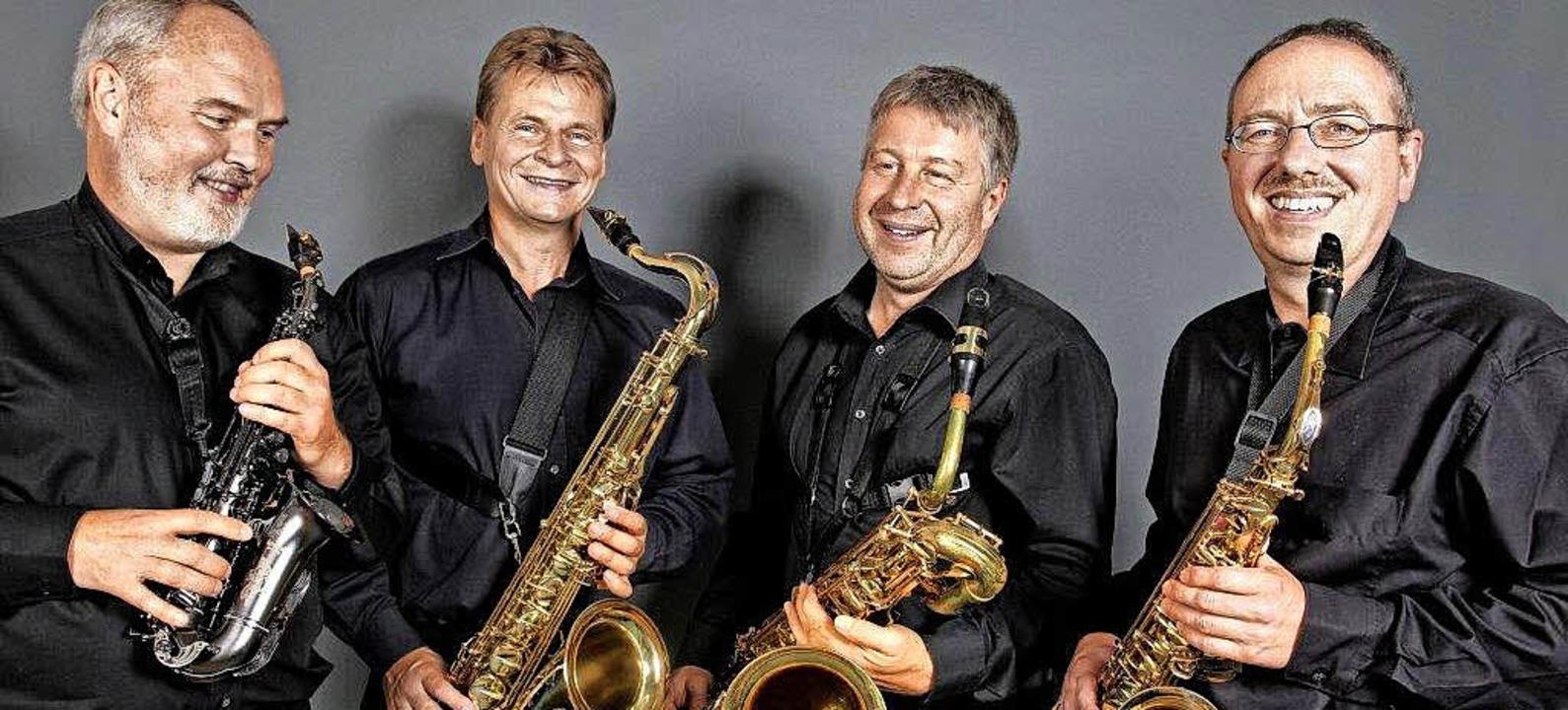 Das Subito Saxofon Quartett spielt in Fischingen.  | Foto: privat