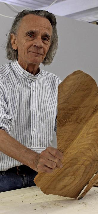 Peter Döring eröffnet in St. Blasien eine Galerie mit Kunstschule.  | Foto: Cornelia Liebwein