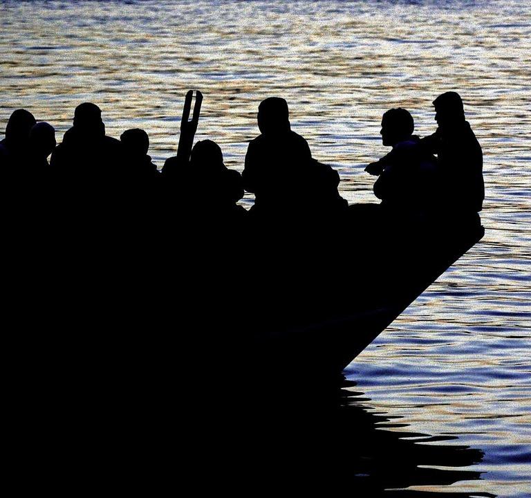 Flüchtlingsboot aus Tunesien   | Foto: AFP