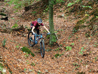 Fotos: Mountainbiken in der Sabine-Spitz-Arena in Bad Säckingen