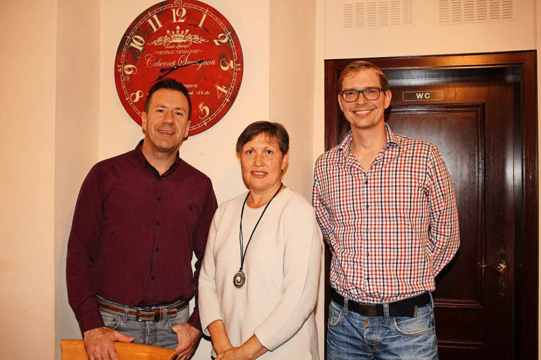 Der neue Fördervereins-Vorstand mit Ja...Fuchs und Stefan Weihrauch (von links)  | Foto: Anja Bertsch