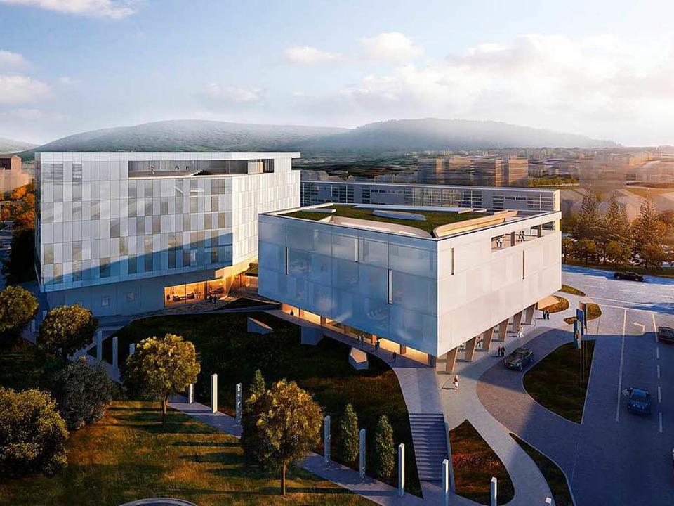 So soll das neue Hotel aussehen.  | Foto: Archimedialab Ltd.
