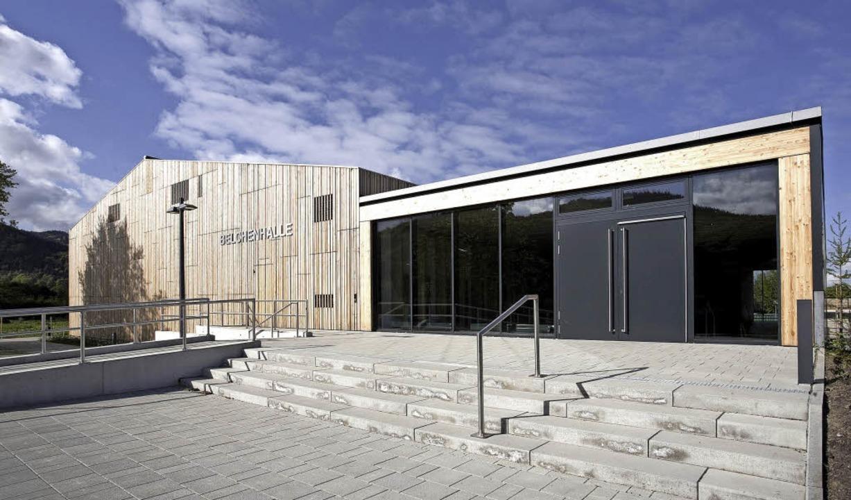 Beispielhaft: die  Belchenhalle in Staufen    Foto: Architektenkammer