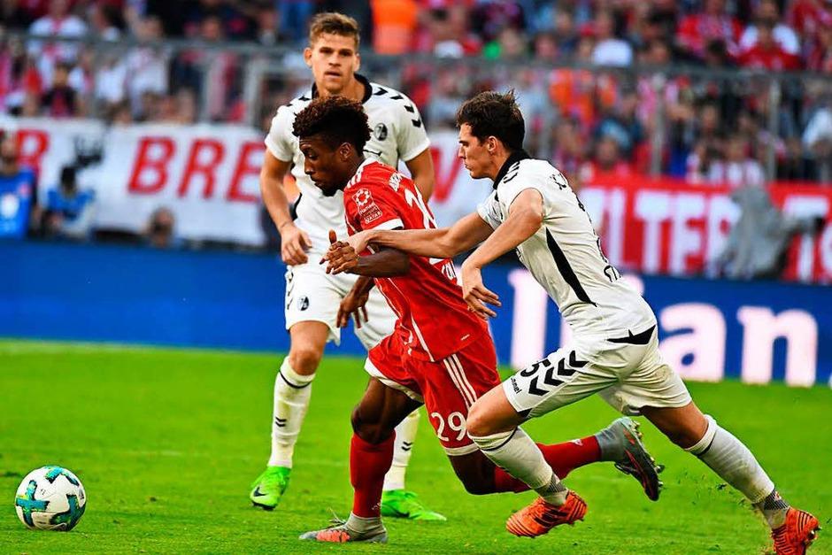 Nicht zu stoppen: Der Sportclub verliert auswärts gegen den FC Bayern München mit 0:5. (Foto: Achim Keller)