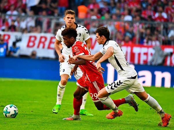 Nicht zu stoppen: Der Sportclub verliert auswärts gegen den FC Bayern München mit 0:5.