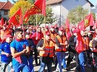 300 Mitarbeiter von GST streiken unbefristet in Murg