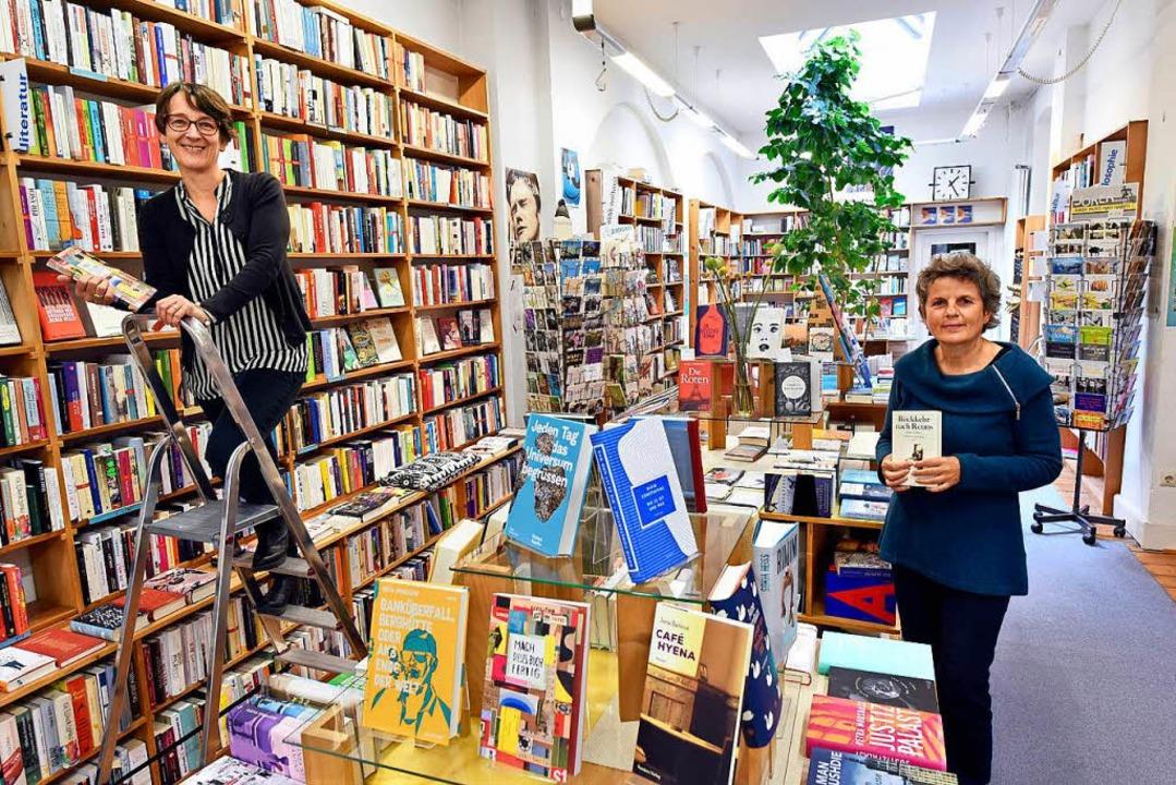 Tina Bolg (links) und Heidemarie Schle... hier bis heute die wichtigste Rolle.   | Foto: Thomas Kunz