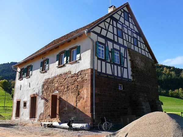 Das Effringer Schlössle - Neuzugang im Schwarzwälder Freilichtmuseum Vogtsbauernhof