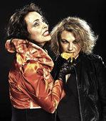 Marianne Blum und Marina Gajda gastieren am Freitag im Ali-Theater in Tiengen.