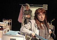 """Szenische Lesung mit dem Theater mini-art in Weil """"Oskar und die Dame in Rosa"""""""