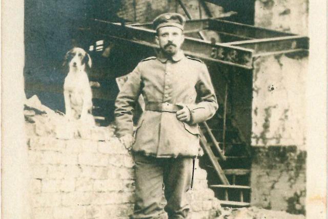 Vom Schicksal eines deutschen Weltkriegs-Soldaten aus Binzen im Kampf um wenige Kilometer