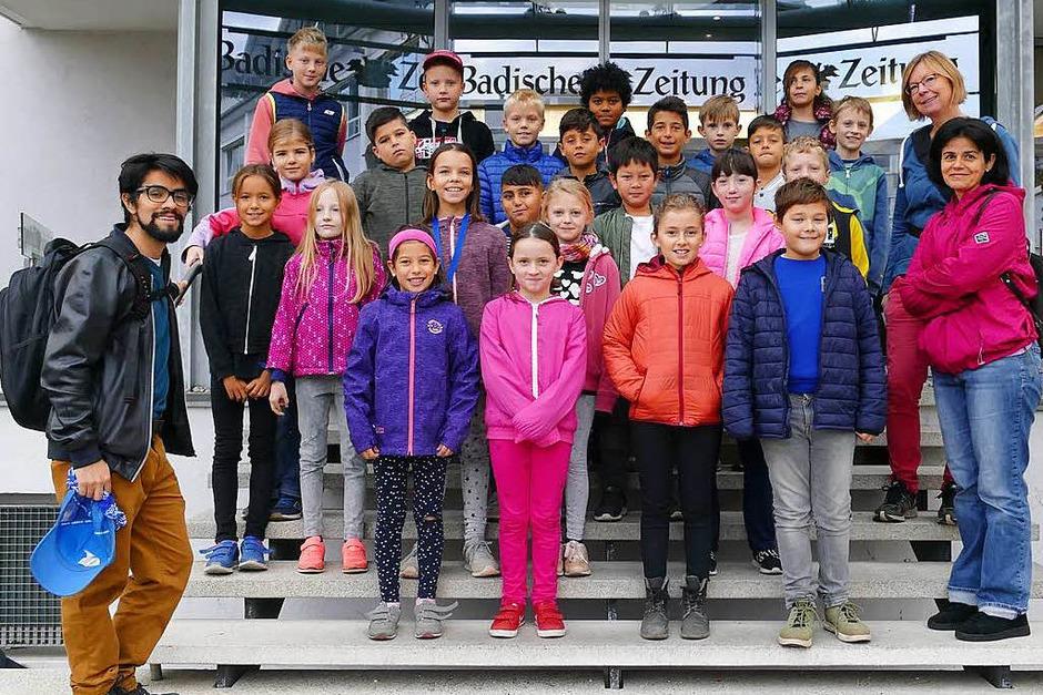 Klasse 4c der Clara Grunwaldschule in Freiburg (Foto: Sabrina Böttcher)