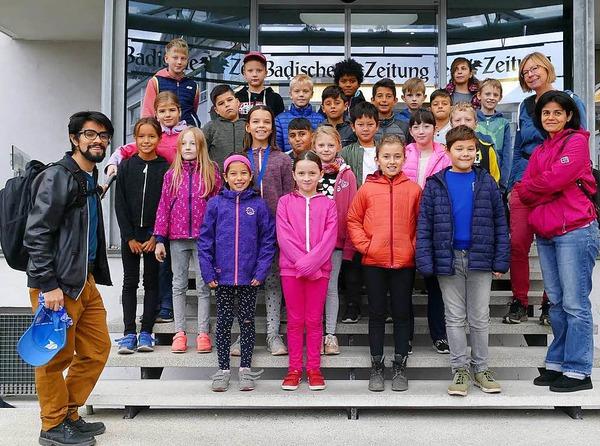 Klasse 4c der Clara Grunwaldschule in Freiburg