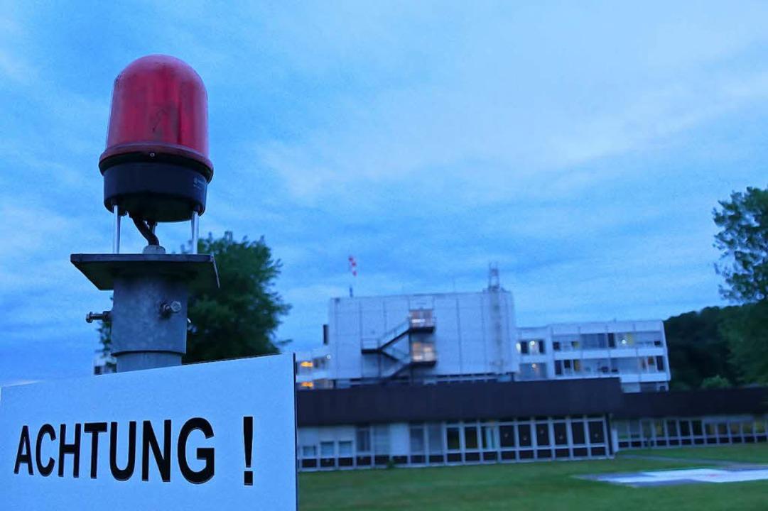 Der Betriebsrat sieht eine etwaige Sch...ng des Spitals Bad Säckingen kritisch.  | Foto: Manuel Fritsch