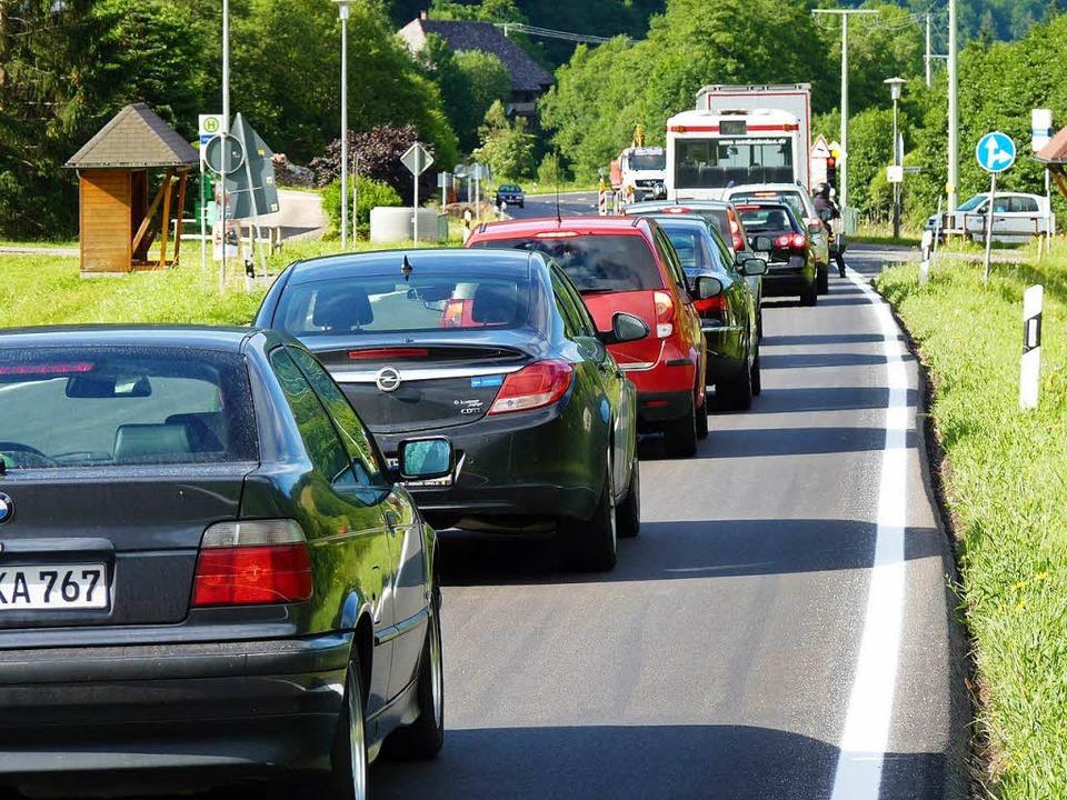 Im November wird die Strecke zwischen Fahl und Feldberg gesperrt (Symbolbild).  | Foto: Sattelberger