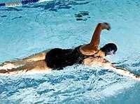 Schwimmen und Radfahren fördern Motorik und Gesundheit