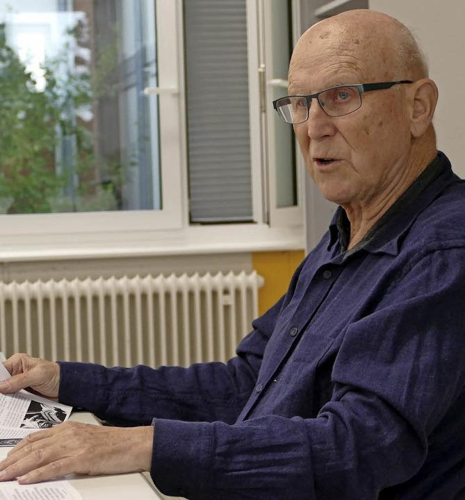 Ex-Lehrer Eberhard Büser  | Foto: Elisabeth Weniger