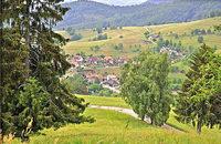 Linienbus nach Tegernau und Gersbach