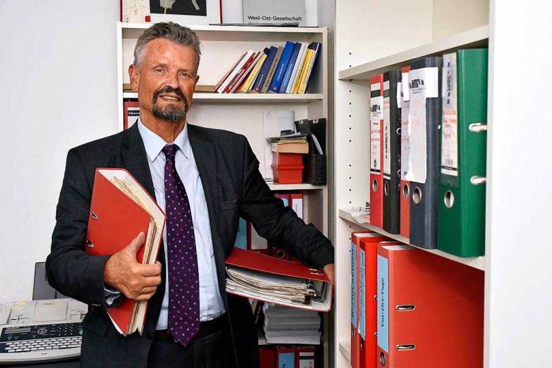 Nach mehr als 30 Dienstjahren als Abge...iburger Büro an der Merzhauser Straße.  | Foto: Thomas Kunz