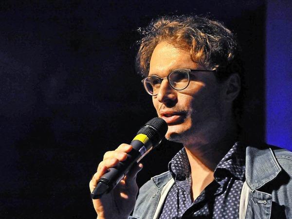 Moderator Florian Kech