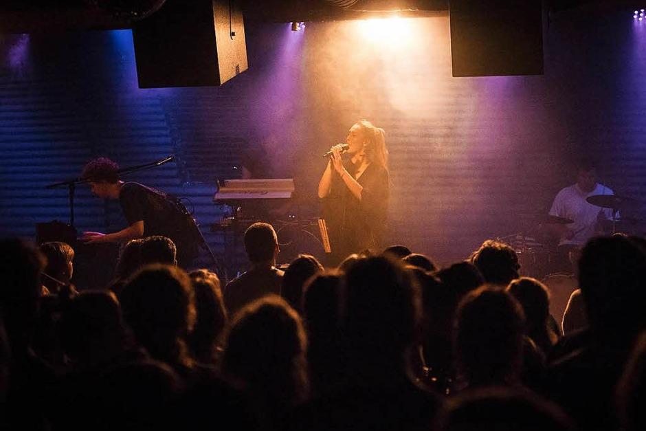 Woman und Claire im Freiburger Jazzhaus. (Foto: FLORIAN FORSBACH)