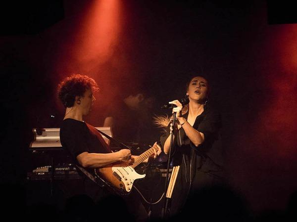 Woman und Claire im Freiburger Jazzhaus.