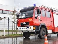 Freiwillige Feuerwehren üben beim Sicherheitstraining