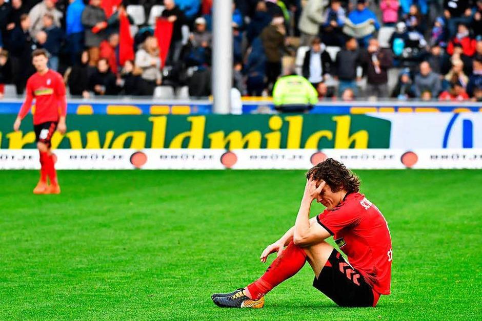 Punktgewinn oder Punktverlust? Caglar Söyüncü ist mit dem Ergebnis scheinbar nicht zufrieden. (Foto: Achim Keller)