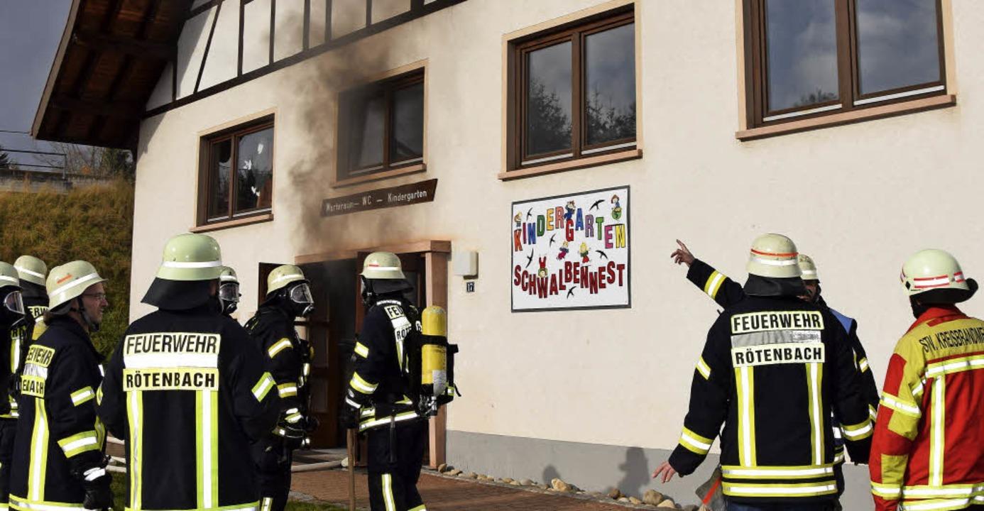 Großeinsatz im kindergarten friedenweiler badische zeitung