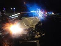 Schwerer Unfall auf der B34 bei Brennet - sechs Verletzte