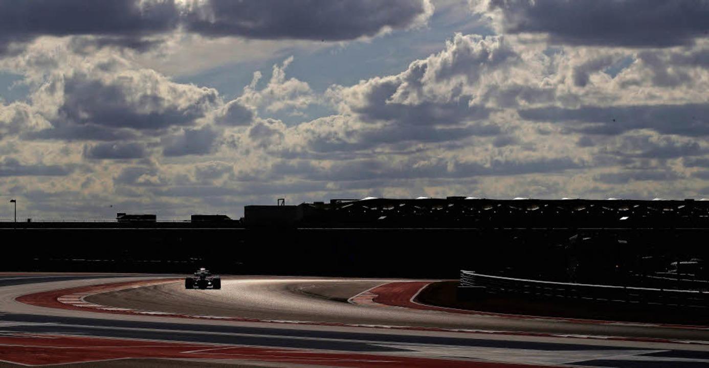 Sebastian Vettel  in Austin, der Deutsche kam auf Platz zwei.   | Foto: AFP