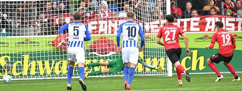 1:1 - SC Freiburg schafft nur ein Remis gegen Hertha BSC