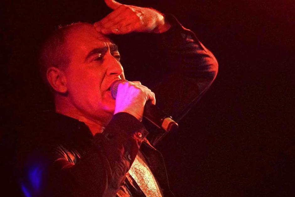 Gabriel Delgado-López von DAF im Café Atlantik. (Foto: Simon Langemann)