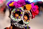 Fotos: So sah die Catrina-Parade in Mexico City aus