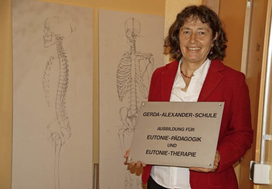 Barbara Seitz hat den Sitz der Gerda-A...le für Eutonie nach Kenzingen geholt.   | Foto: Ilona Hüge