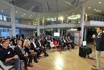Fotos: Business-Talk in der Agentur für Arbeit
