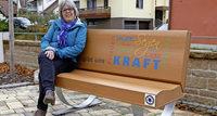 Ehrenkirchen: Reformationsbänke gestaltet Eine Bibel, auf der man Kraft tanken kann