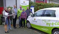 Ehrenkirchener teilen sich Elektroauto