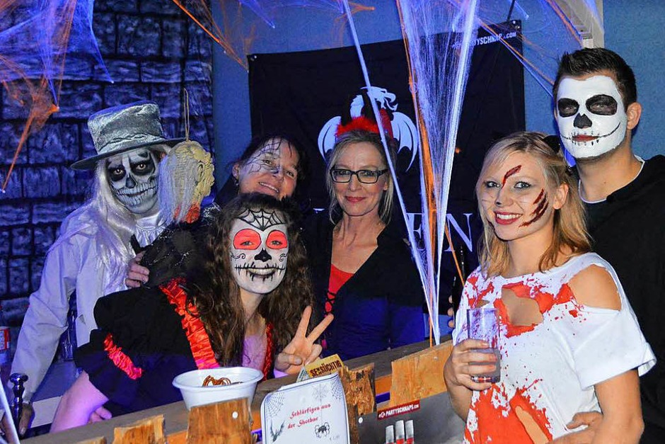 So ging es ab bei der Halloween-Party in Warmbach (Foto: Horatio Gollin)