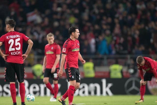 0:3-Pleite in Stuttgart: Die SC-Spieler in der Einzelkritik