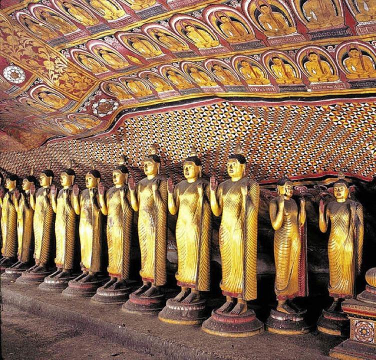 Beeindruckende Tempelanlagen bezeugen ...läubigkeit der Bevölkerung Sri Lankas.  | Foto: Dertour