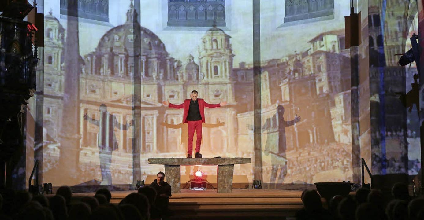 Hendrik Pape, der Reformator, wird in ... nicht verklärt und nicht demontiert.   | Foto: Christoph Breithaupt
