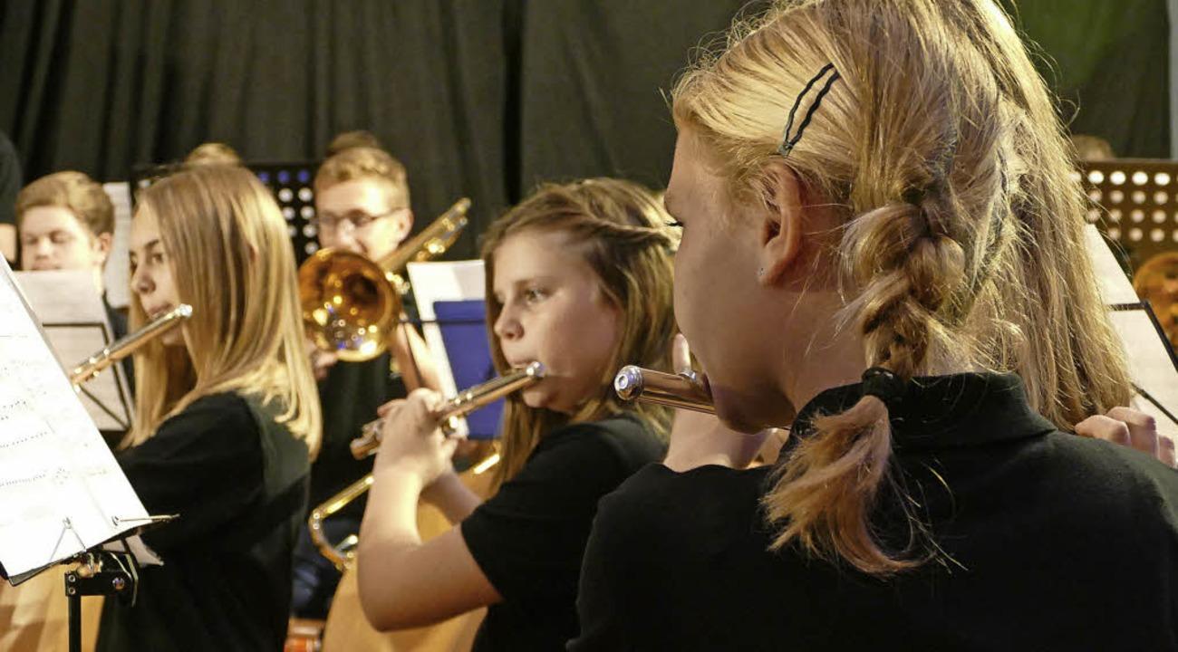 Viel Applaus gab es für das Jugendorchester Rickenbach.   | Foto: miloslavic