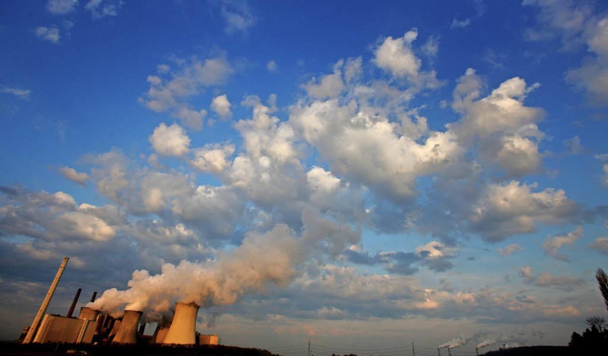 Kein CO<BZ-Texttief>2</BZ-Texttief>, s...on Treibhausgasen in der Atmosphäre.    | Foto: dpa