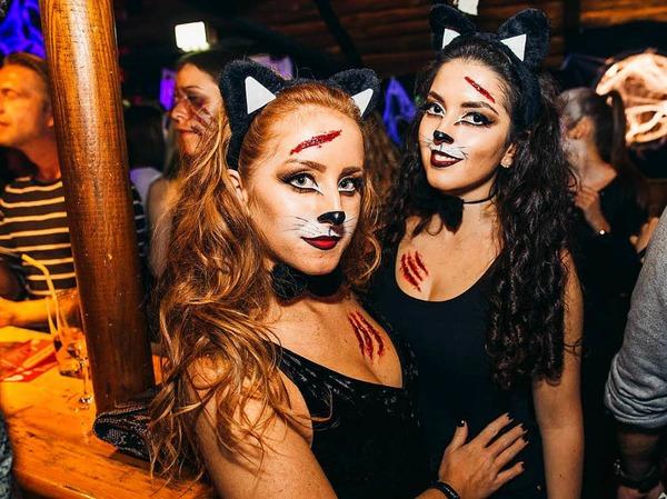 Halloween-Party im Heuboden in Umkirch