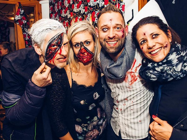 Halloween-Party im Heuboden in Umkirch