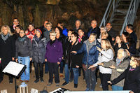 20 000 kommen unfallfrei durch die Hasler Höhle