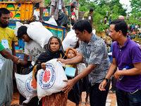 Die Lage der Rohingya-Flüchtlinge ist dramatisch