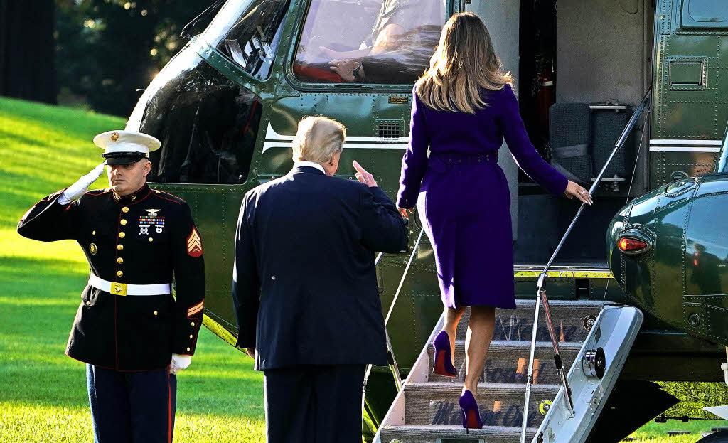 US-Präsident Trump legt Kranz in Pearl Harbour nieder